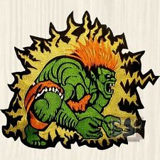 Street Fighter 2 Blanka Big Embroidered Patch Brazil Character Capcom 4 Super