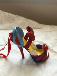 Disney Christmas Decoration Snow White SHoe Runway Limited Edition