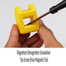 Magnetizer Demagnetizer Screwdriver Tips Screw Driver Magnetic Tool Random Color