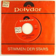"""7"""" Single - John Mayall - Don't Pick A Flower / Don't Waste My Time - S1603"""