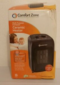 Comfort Zone Multi-purpose Compact Ceramic Heater works great