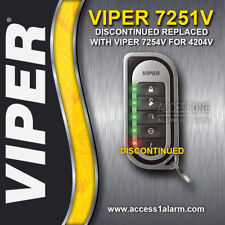 Viper 7251V 2-Way LED Replacement Remote Control Transmitter For Viper 4204V