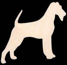 "Dog Irish Terrier Shape 4"" Craft Wood Cutout #332-4"
