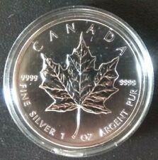 Canada Silver Maple leaf 5 dollars Coin 1 oz 2013
