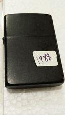 1988 Rare Black Zippo Cigarette lighter