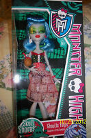 NEW MONSTER HIGH GHOULIA YELPS *SKULL SHORES SERIES*