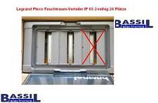 Legrand Plexo Feuchtraum-Verteiler IP 65 2-reihig 24 Plätze