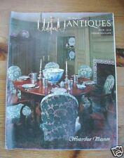 1978 ANTIQUES MAGAZINE Winterthur Museum Henry du Pont vintage collectible