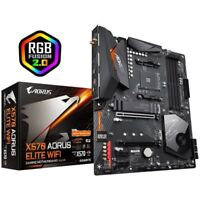 Gigabyte X570 Aorus Elite Wifi Socket Am4/ Amd X570/ Ddr4/ Quad Crossfire/ Pcie