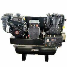15Hp 30-Gallon 3-In-1 Air Compressor Two-Stage Gasoline Welder & Generator !