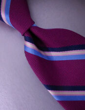 BROOKS BROTHERS Slim Silk Tie Stripe $59 ~ NEW NWT