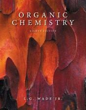 Organic Chemistry (8th Edition) by L. G. Wade Jr. 0321768418 Hardcover Book. Acc