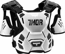 Thor Adult Guardian Deflector Body Armour MD/LG White/Black Quad ATV MX