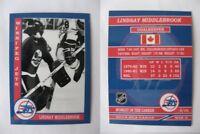2015 SCA Lindsay Middlebrook Winnipeg Jets goalie never issued produced #d/10