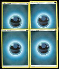 Pokemon BASIC DARKNESS ENERGY - Sun & Moon - - MINT 4X