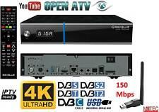 GigaBlue UHD Trio 4K Sat DVB-S2X DVB-C/T2 Receiver Combo + Wifi Wlan 150Mbit UHD