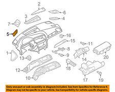 AUDI OEM A4 Quattro Instrument Panel Dash-Defroster Nozzle Left 8K08197936PS
