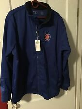 Chicago Cubs Antigua Golf Jacket Blue Xxl New