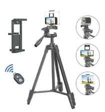 Tairoad Portable Phone Tripod 2in1 Phone & iPad. Bluetooth Remote.