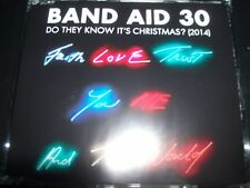 BAND AID 30 Do They Know It's Christmas? Australian CD Single - Like New