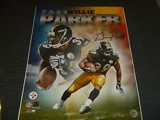 Willie Parker Pittsburgh Steelers Signed/Auto  16x20     COA