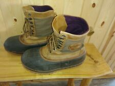 LaCrosse Ice King Snow Pac Boots Men's Size 11Us No Liners Snowmobiling Ice fish