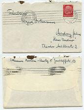 10489 - Beleg - Berlin-Charlottenburg 29.8.1939 nach Misdroy Ostsee, Haus Rudno