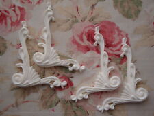 New! Shabby~Chic Large Corner Spandrels 4pc. Furniture Applique