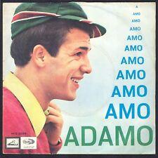 ADAMO PRESSAGE ITALIE EN ITALIEN AMO 45T SP BIEM PATHE MQ 2025