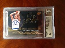 2011-12 Exquisite UD Black Gold Auto Larry Bird 2/10 Rare