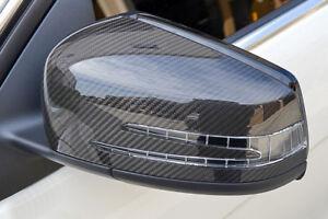 W204 Mercedes Carbon Fibre Mirror Covers C63 C Class   A45   W212   W218   W176