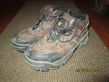 Men's Heavy Duty CAT Steel Toe Work Shoes - SIze 11 M