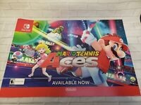Mario Tennis Aces Captain Toad Display Promotional Signs 16x24 Nintendo Switch