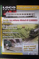 MODELISME FERROVIAIRE TRAIN MAGAZINE LOCO REVUE N° 699 de 2005