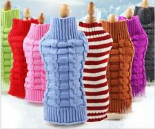 Warm Pet Sweater Cute Knitted Classic Cat Sweater Dog Clothes Coat for Puppy Pet