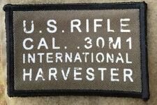 M1 Garand International Harvester Receiver Stamp Morale Patch 30-06 Korean War