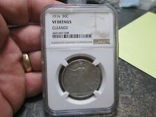 1916 Walking Liberty Silver Half Dollar NGC VERY FINE Condition