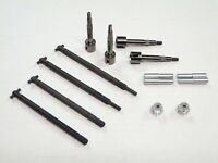 NEW TAMIYA SUPER CLODBUSTER CLOD BUSTER Axle Shafts X2 +Pinion Gear BULLHEAD TC1