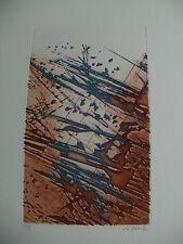 Jean Claude Le Floch abstrakte Farbradierung Auflage15 handsigniert nummeriert 3