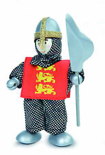 Budkins BK956 Leon Lion Red Knight by Le Toy Van - Knights World Range
