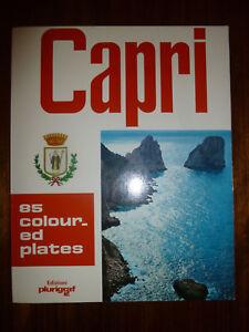 Vintage 1970s ITALY CAPRI PB Book. 85 Coloured Pictures by Loretta Santini Retro