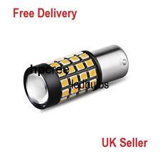 Nueva actualización de 2017 LED 51 W PY21W 581 BAU15S 7507 bombillas ámbar Indicador CANBUS **