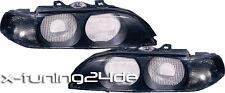 BMW 5er e39 95-00 vetri luce VETRI FANALI FRECCE NERO - 086