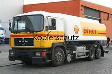 Truck photo - Lkw Foto MAN F90 Tankwagen - Fuel truck Shell      /96
