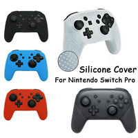 Grip Soft Gamepad Skin Silicone Protective Case Cover For Nintendo Switch Pro