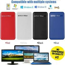 """USB 3.0 to SATA 2.5"""" Hard Drive Enclosure Caddy Case For HDD / SSD External"""