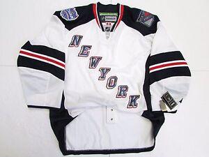 NEW YORK RANGERS AUTHENTIC 2014 NHL STADIUM SERIES REEBOK EDGE 2.0 7287 JERSEY
