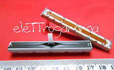 potenziometro slider a slitta logaritmico stereo 10K 10.000 ohm