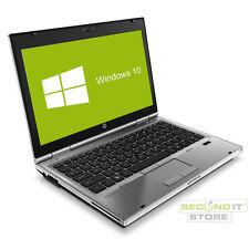 HP EliteBook 2560p Notebook Intel Core i7 2x 2,7GHz 8GB RAM 320GB HDD Win10