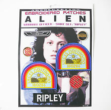 "ALIEN / ALIENS  ""RIPLEY"" Shirt Patches - Iron-On Patch Mega Set #02 - FREE POST"
